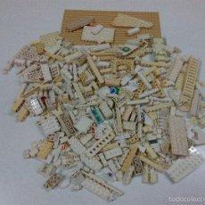 Juegos construcción - Lego: LOTE DE MAS DE 380 PIEZAS LEGO . BLANCAS - CREMA. Lote 56533212