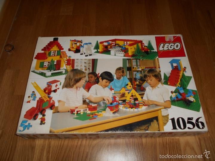 LEGO CONSTRUCCIONES EDUCATIONAL SET 1056 BASIC SCHOOL PACK DE 1985 MUY RARO MUY COMPLETO (Juguetes - Construcción - Lego)