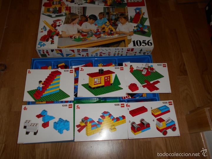 Juegos construcción - Lego: Lego Construcciones Educational set 1056 Basic School Pack de 1985 MUY RARO MUY COMPLETO - Foto 4 - 56598569