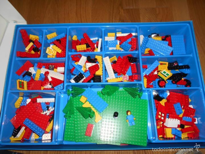 Juegos construcción - Lego: Lego Construcciones Educational set 1056 Basic School Pack de 1985 MUY RARO MUY COMPLETO - Foto 6 - 56598569