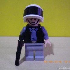 Juegos construcción - Lego: LEGO STAR WARS MINIFIGURA ORIGINAL SOLDADO CON ARMA GUARDIA PRINCESA LEIA EPISODIO IV - MINI FIGURA. Lote 56670806