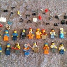 Juegos construcción - Lego: GRAN LOTE MINIFIGURAS LEGO. Lote 56911936