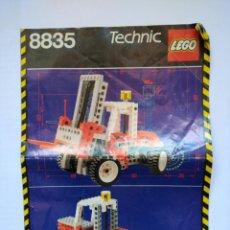 Juegos construcción - Lego: INSTRUCCIONES LEGO TECHNIC 8835. Lote 57432648