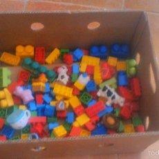 Juegos construcción - Lego: GRANJA DE MEGA BLOKS. CON ANIMALES. LOTE.. Lote 57684382