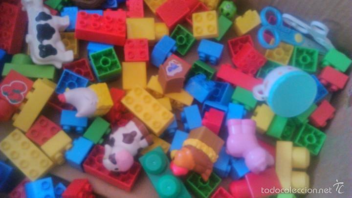 Juegos construcción - Lego: granja de mega bloks. con animales. lote. - Foto 2 - 57684382