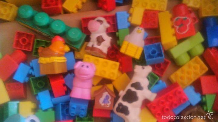Juegos construcción - Lego: granja de mega bloks. con animales. lote. - Foto 3 - 57684382