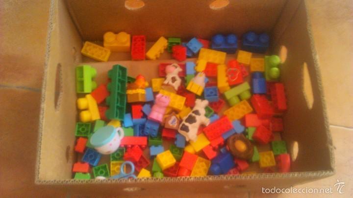 Juegos construcción - Lego: granja de mega bloks. con animales. lote. - Foto 5 - 57684382