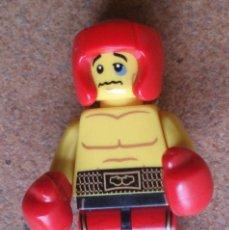 Juegos construcción - Lego: FIGURA MINIFIG LEGO BOXEADOR SERIES 5. Lote 114984619
