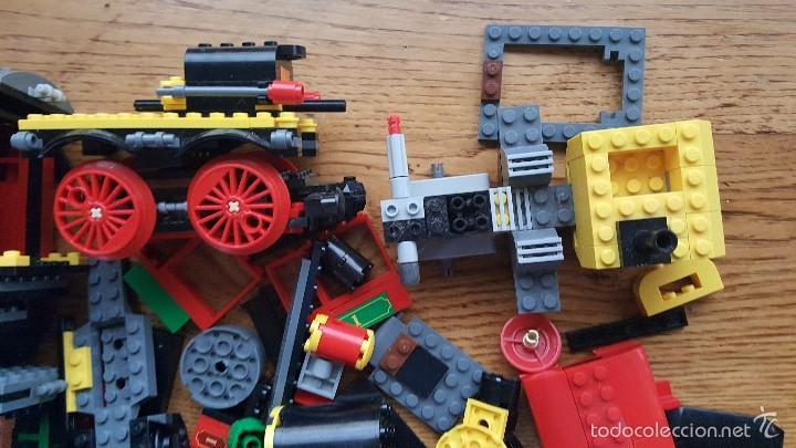 5474e716d93f4 Construction games - Lego  LEGO 7597 TREN DEL OESTE DE TOY STORY 3 DISNEY  INCOMPLETO