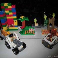 Juegos construcción - Lego: LOTE LEGO DUPLO ZOO . Lote 58285050