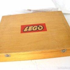 Juegos construcción - Lego: CAJA DE LEGO CON PIEZAS DE 1960. Lote 58326014