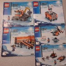 Juegos construcción - Lego: LEGO CITY 60036 CAMPAMENTO BASE ÁRTICO.. Lote 60607607