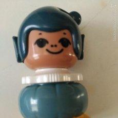 Juegos construcción - Lego: ¿FIGURA LEGO PIN Y PON TRES 3 CARAS CAMBIABLES?. Lote 60721831