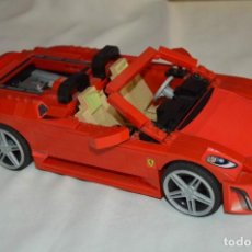 Juegos construcción - Lego: FERRARI F430 SPIDER - ESCALA 1:17 - LEGO - REF. 6671 - COMPLETO Y EN BUEN ESTADO . Lote 62005728