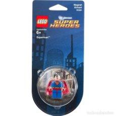 Juegos construcción - Lego: LEGO SUPERMAN DC UNIVERSE SUPER HEROES 850670 (IMÁN / MAGNET). NUEVO EN BLÍSTER.. Lote 63552796