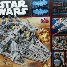Juegos construcción - Lego: LEGO STAR WARS REF. 75105 HALCON MILENARIO NUEVO CAJA PRECINTADA. Lote 66501414