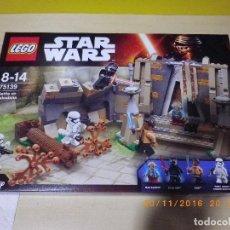 Juegos construcción - Lego: LEGO STAR WARS DISNEY CAJA NUEVA REF. 75139 BATALLA EN TAKODANA CON LYLO REN, FINN Y MAZ KANATA. Lote 67042830