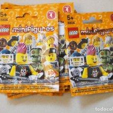 Juegos construcción - Lego: LEGO MINIFIGURES SERIE 4º COMPLETA. Lote 67124909