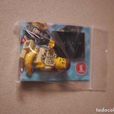 Juegos construcción - Lego: SE VENDE MINIFIGURE DE NATURALISTA CON MONO DE LA SERIE 5 DE LEGO MINIFIGURES.. Lote 67291517