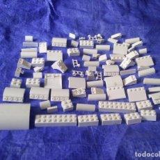 Juegos construcción - Lego: LOTE LEGO - 80 PIEZAS BLANCAS. Lote 131916305