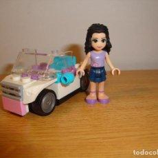 Juegos construcción - Lego: SET LEGO FRIENDS, FIGURA CHICA Y COCHE. Lote 68238717