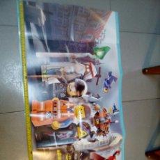 Juegos construcción - Lego: PÓSTER DESPEGABLE LEGO MOVIE - LA PELICULA. Lote 68312857