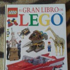 Juegos construcción - Lego: EL GRAN LIBRO DE LEGO. Lote 68562577