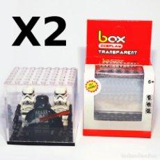 Juegos construcción - Lego: PACK 2 EXPOSITORES PARA TUS MINIFIGURAS LEGO FAVORITAS, NUEVO Y EN CAJA ORIGINAL.. Lote 68744313