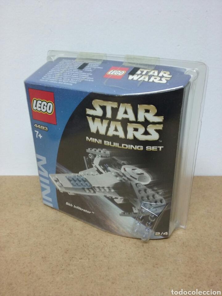 Juegos construcción - Lego: LEGO STAR WARS (4493) SITH INFILTRATOR (sin abrir) - Foto 2 - 69122163