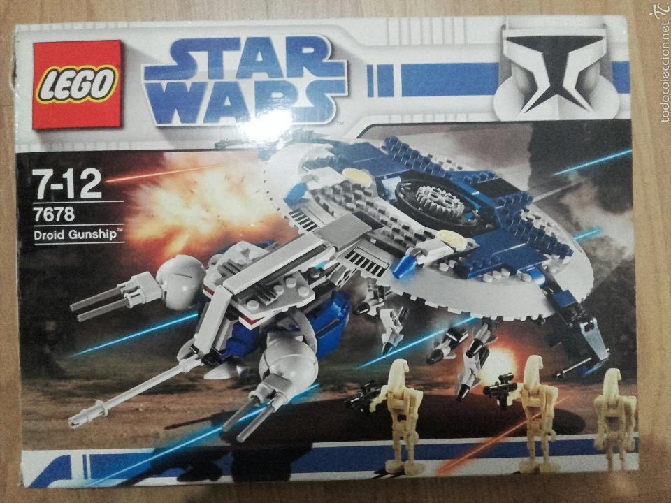 LEGO STAR WARS DROID GUNSHIP 7678 (Juguetes - Construcción - Lego)