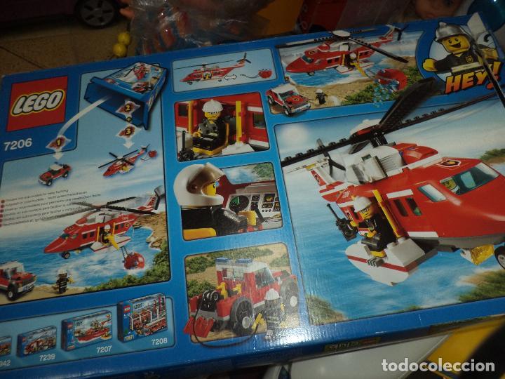 Juegos construcción - Lego: LEGO City ref.7206.Helicóptero de rescate y Land Rover. - Foto 2 - 69705437