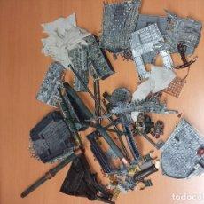 Juegos construcción - Lego: M0002 - MEGABLOCKS 1067 PIRATAS CARIBE,EL HOLANDÉS ERRANTE ( DESPIECE) + INSTRUCCIONES. Lote 71023361