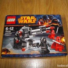 Juegos construcción - Lego: LEGO STAR WARS DEATH STAR TROOPERS REF. 75034 NUEVO EN CAJA 2014 DESCATALOGADO. Lote 71376243
