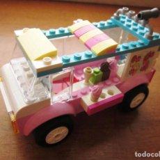 Juegos construcción - Lego: LEGO CAMION DE HELADOS DE EMMA. COCHE CARRITO. LEGO JUNIORS FRIENDS. REF. 10727. Lote 71615495