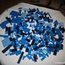 Juegos construcción - Lego: LOTE LEGO PIEZAS COLOR AZUL.UNAS 290 PIEZAS. Lote 71621243