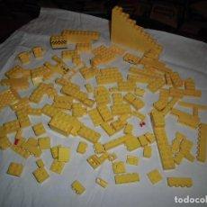 Juegos construcción - Lego: LOTE LEGO PIEZAS COLOR AMARILLO.UNAS 150 PIEZAS. Lote 71622055