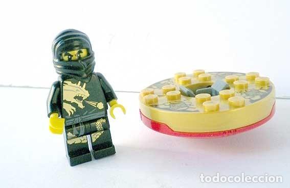 Lego Ninjago Cole Dx Ref 2170 Con Trompo Lanzador Sin Armas Master Of Spinjitzu