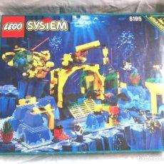 Aquanauts Lego 6195 año 95, completo