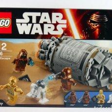 Juegos construcción - Lego: CAJA LEGO STAR WARS NUEVA A ESTRENAR - DROID ESCAPE POD REF 75136. Lote 72318991