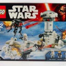 Juegos construcción - Lego: CAJA LEGO STAR WARS NUEVA A ESTRENAR - HOTH ATTACK REF 75138. Lote 72319059