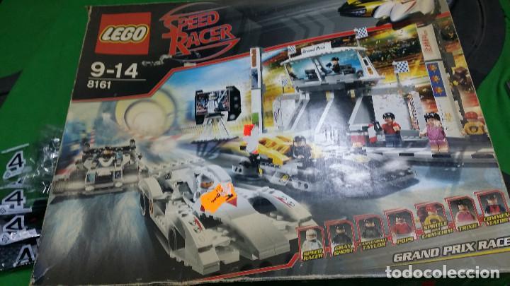 """LEGO 8161 SPEED RACER """"GRAND PRIX RACE"""" – COMPLETO (Juguetes - Construcción - Lego)"""