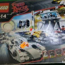 """Juegos construcción - Lego: LEGO 8161 SPEED RACER """"GRAND PRIX RACE"""" – COMPLETO. Lote 72884507"""