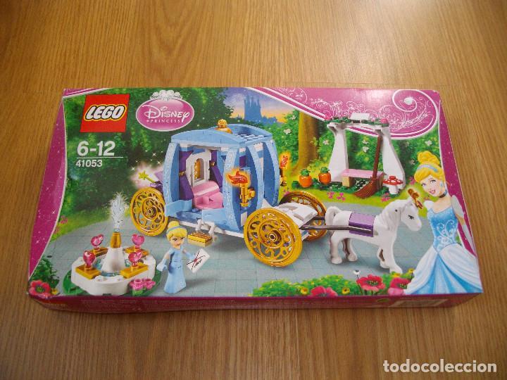 LEGO PRINCESAS DISNEY REF. 41053 LA CARROZA ENCANTADA DE CENICIENTA 2014 DESCATALOGADO NUEVO (Juguetes - Construcción - Lego)