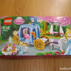 Juegos construcción - Lego: LEGO PRINCESAS DISNEY REF. 41053 LA CARROZA ENCANTADA DE CENICIENTA 2014 DESCATALOGADO NUEVO. Lote 73535143