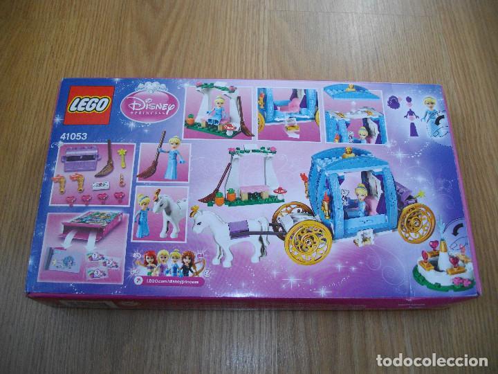 Juegos construcción - Lego: LEGO PRINCESAS DISNEY REF. 41053 LA CARROZA ENCANTADA DE CENICIENTA 2014 DESCATALOGADO NUEVO - Foto 2 - 73535143