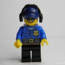 Juegos construcción - Lego: FIGURA ORIGINAL POLICIA DE LEGO. Lote 74074395