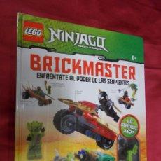 Juegos construcción - Lego: LEGO NINJAGO BRICKMASTER. ENFRÉNTATE AL PODER DE LAS SERPIENTES. PRECINTADO.. Lote 74102827
