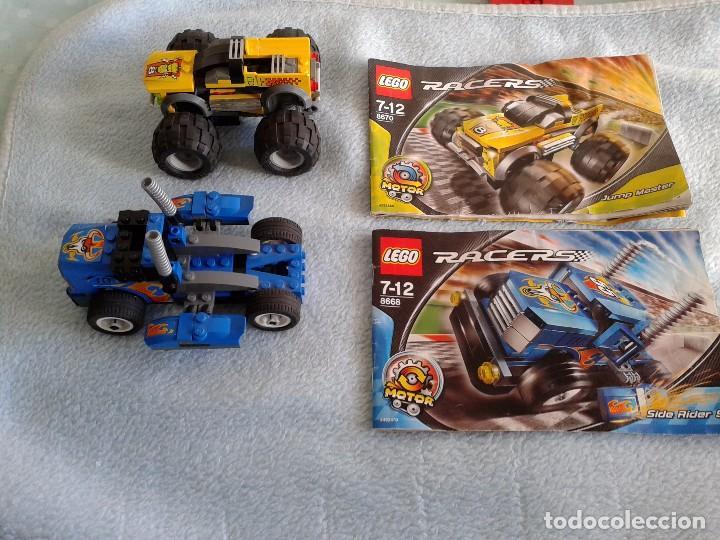 LEGO RACERS 8670 Y 8668.JUMP MASTER, SIDE RIDER 55 (Juguetes - Construcción - Lego)