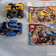 Juegos construcción - Lego: LEGO RACERS 8670 Y 8668.JUMP MASTER, SIDE RIDER 55. Lote 75102367