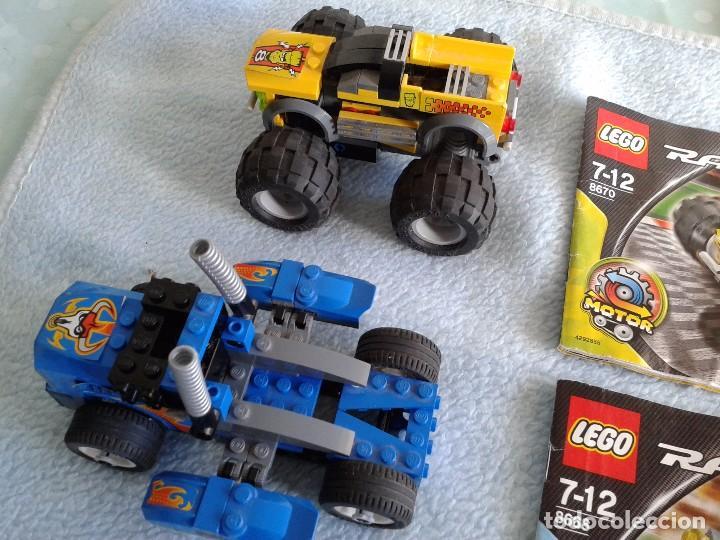 Juegos construcción - Lego: lego racers 8670 y 8668.jump master, side rider 55 - Foto 2 - 75102367